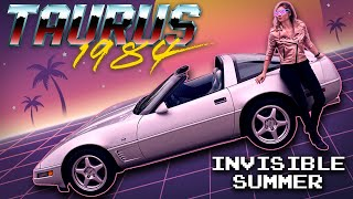 """Invisible Summer"" by Taurus 1984 (Corvette Driving Synthwave Music Video)"