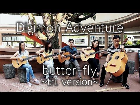 Butterfly ~tri. Version~   Digimon Adventure tri. OP (Niibori Guitar Quintet Cover) [ Wada Kouji ]