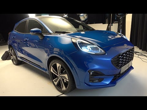New FORD PUMA 2020 - World premiere first look (ST Line)