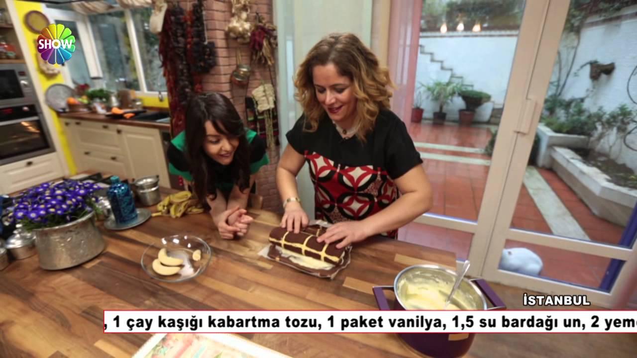 Nursel'in Mutfağı - Muzlu Rulo Pasta Tarifi / 12 Mart ...
