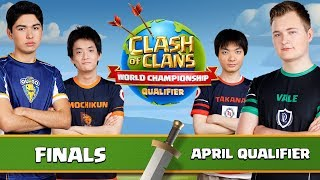 World Championship - April Qualifier - FINALS - Clash of Clans