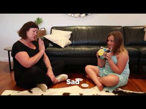 New Zealand Sign Language (NZSL) - Emotions (Feelings Pillow)