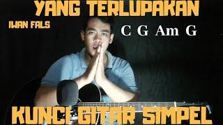 Kunci gitar simpel (Yang Terlupakan - Iwan Fals) by Thoriq Bakhri tutorial gitar untuk pemula