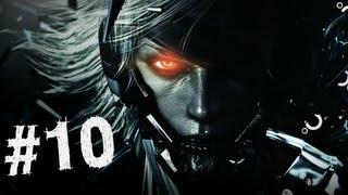 Metal Gear Rising Revengeance Gameplay Walkthrough Part 10 - Jumping Rooftops - Mission 4