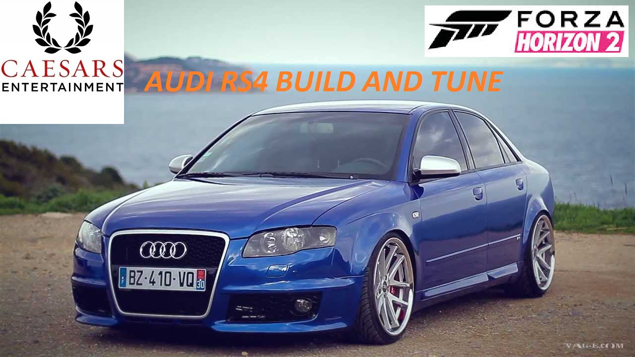 Tune and Build Audi RS4 A800