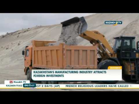 Kazakhstan's manufacturing industry attracts foreign investments - Kazakh TV