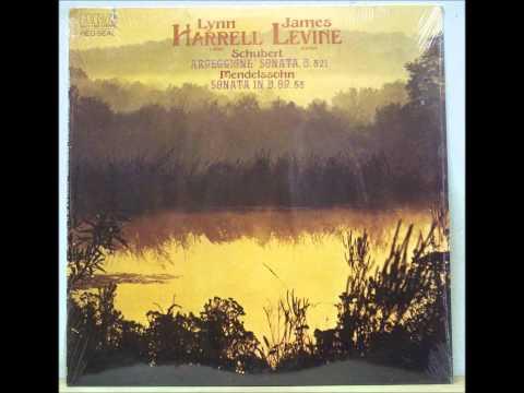Mendelssohn D Major cello Sonata, Lynn Harrell and James Levine