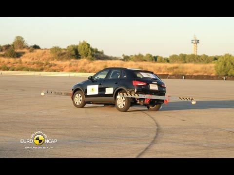 Audi Q3 Electronic Stability Control (ESC) Euro NCAP Test