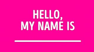 What Should Your Name Really Be? For Girls Only
