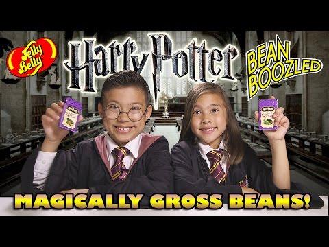 HARRY POTTER BEAN BOOZLED CHALLENGE! Bertie Bott's Every Flavor Beans Contest