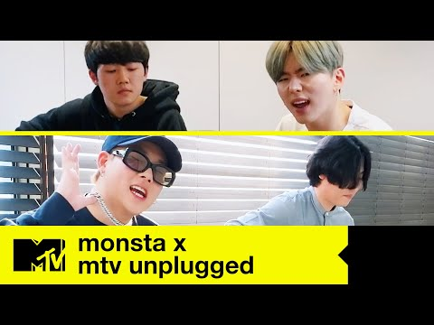 MONSTA X - 'Beside U' / 'You Can't Hold My Heart' (LIVE) | MTV Unplugged At Home