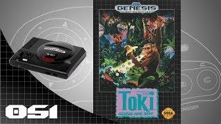Toki: Going Ape Spit [051] SEGA Genesis/Mega Drive Longplay/Walkthrough/Playthrough (FULL GAME)