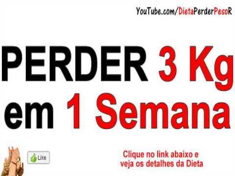 dieta para emagrecer em 1 semana 10kg