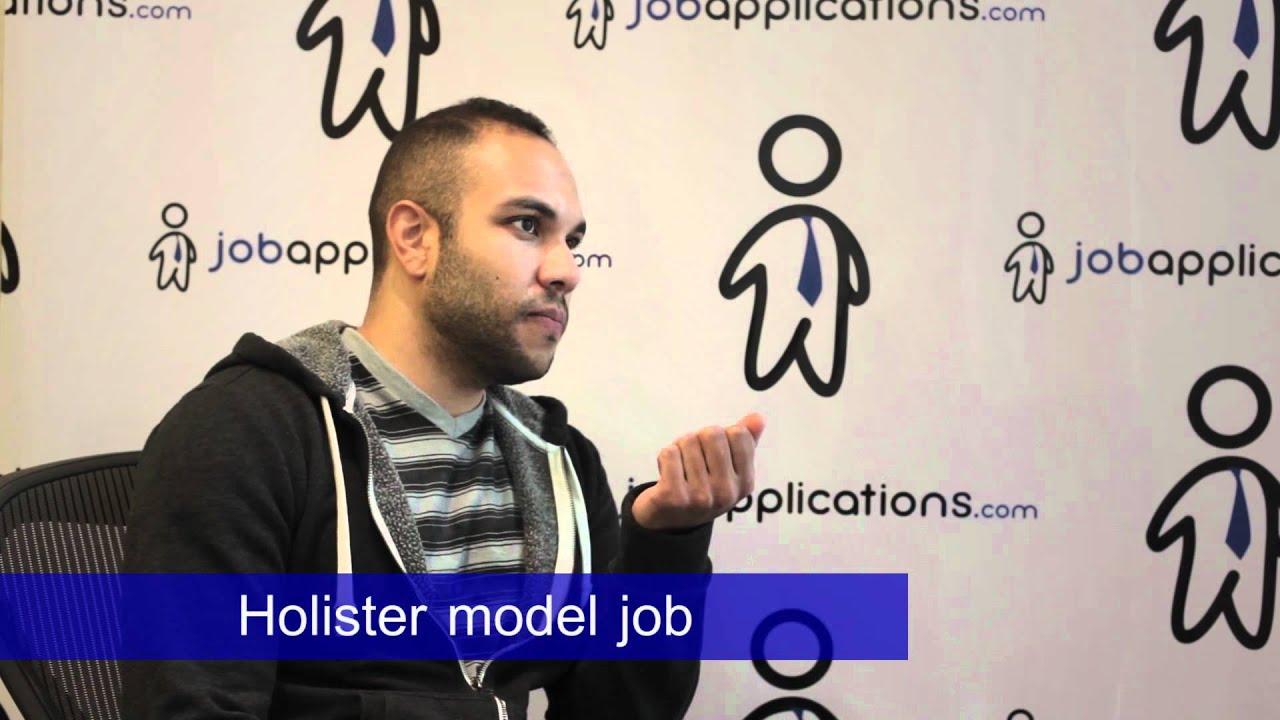 hollister floor model job description salary