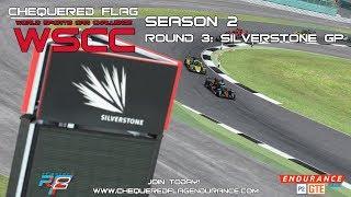 RFactor2 - World Sports Car Challenge: Season 2 - Round 3 [Silverstone GP]