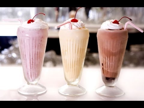 How to make milkshake at home step by