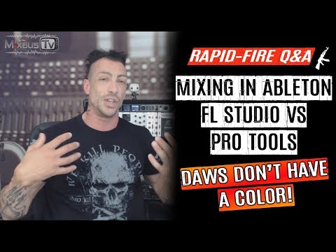 Do DAWs Sound Different? Mixing in Ableton FLStudio vs Pro Tools