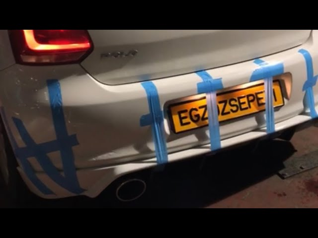 VW POLO 1.6 DİZEL KUMANDALI VAREX EGZOZ SESİ