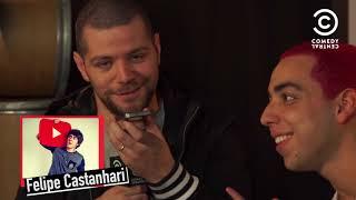 Victor Sarro no Comedy Central com Lucas Selfie