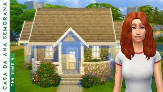 Construindo a Casa da Ana Semgrana (Casa Inicial) | The Sims 4