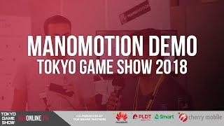 ManoMotion Demo at Tokyo Game Show 2018