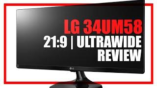 tech  LG 34UM58-P 21:9  Ultrawide Monitor Review