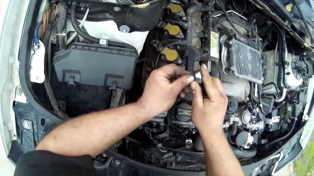 Замена свечей зажигания мерседес мл 350 Замена крыла getz drive