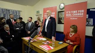 Jeremy Corbyn visits Dudley on General Election 2019 campaign trail