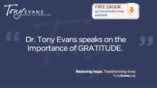Gratitude - Tony Evans