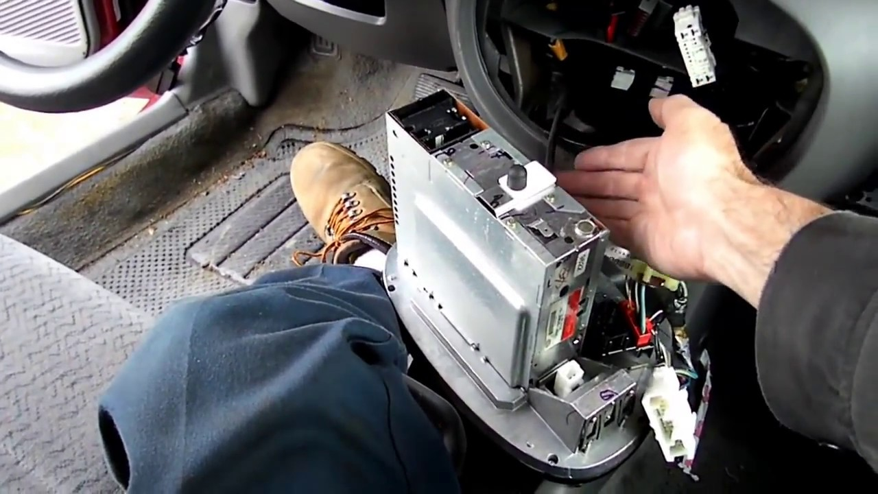 hight resolution of ford escort radio removal