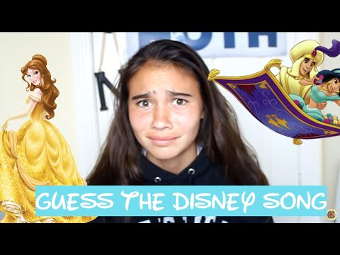 Finishing Disney Lyrics Game!