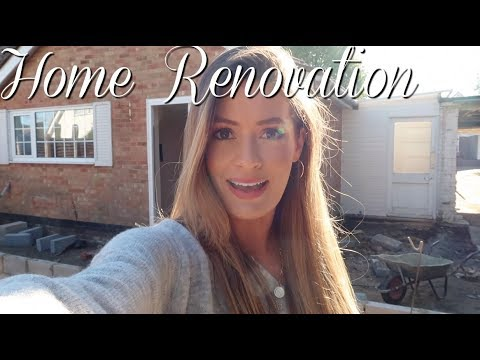 HOUSE RENOVATION UPDATE - HOME TOUR | BUNGALOW EXTENSION