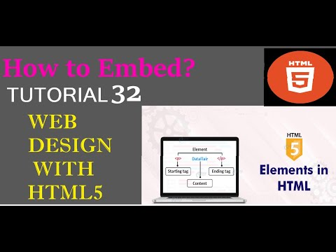 How To Embed Media To Web Page | WEB DESIGN WITH HTML | HTML FULL SERIES IN HINDI