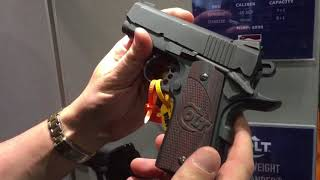 The Defender 1911 9mm, .45ACP, Optimized Carry Gun from Colt