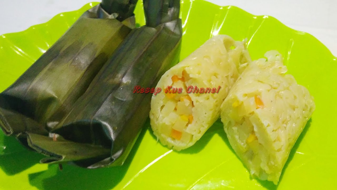 Resep Lontong Mie Youtube