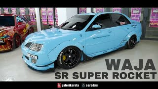 Proton Waja Super Rocket - Negeri Sembilan International Autosalon 2017