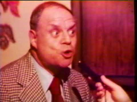 Don Rickles 1977 interview with NYC cable sports talk show
