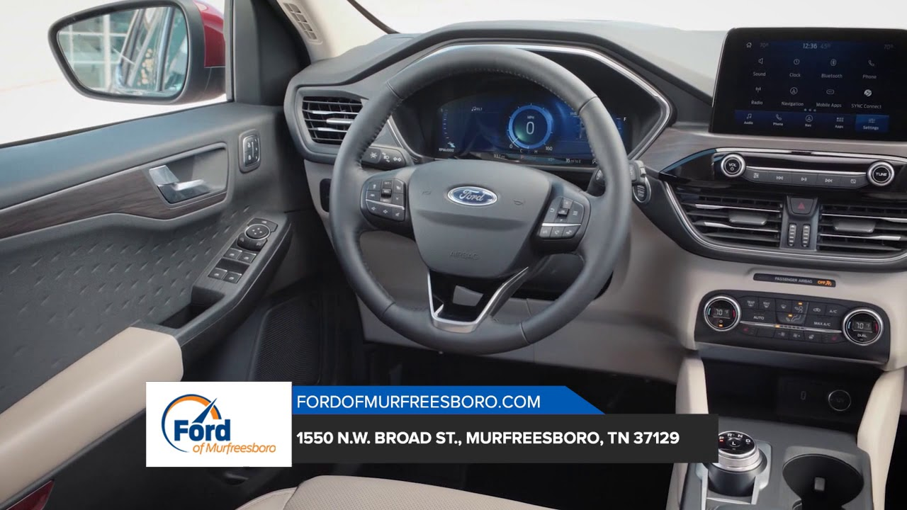 Car Dealerships In Franklin Tn >> 2020 Ford Escape Franklin Tn Ford Escape Dealership