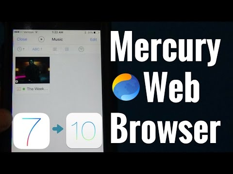 USE NEW APP!!! Download Music For Free Using Mercury Web Browser | iOS 7-11 | NO JAILBREAK OR PC |