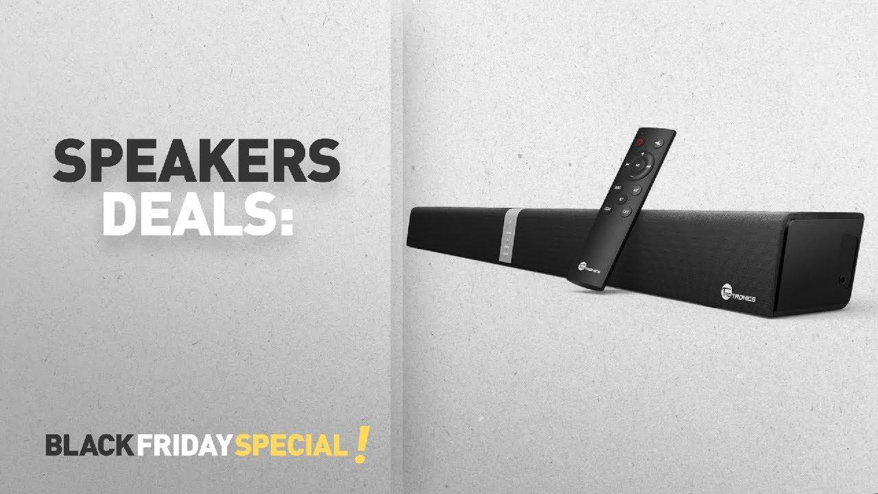 Speakers Deals Soundbar Taotronics Tv Sound Bar Uk Black Friday