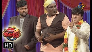 Rocket Raghava Performance | Jabardasth |  7th December 2017  | ETV  Telugu