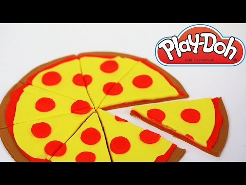 How to Make Play Doh Food Pizza