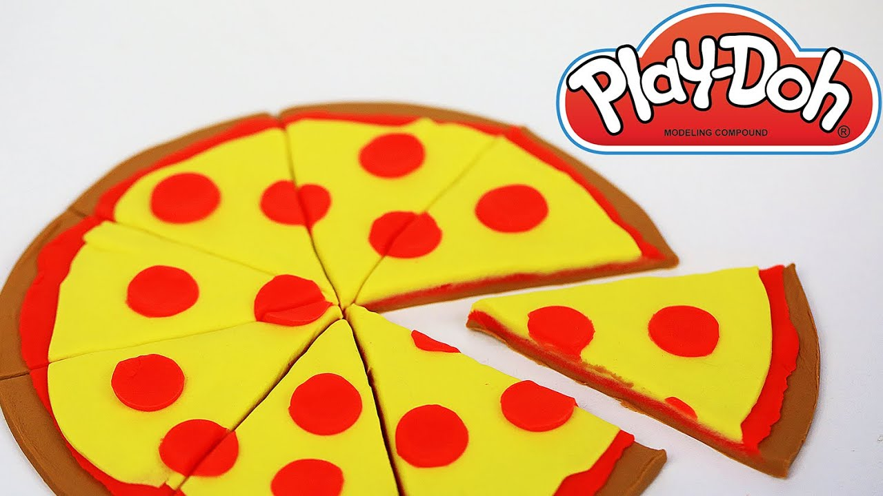 Play doh pizza how to make play doh food how to make play for Play doh cuisine