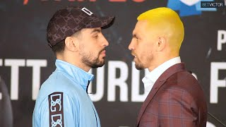 Danny Garcia and Ivan Redkach have INTENSE FACE OFF IN BROOKLYN l Showtime Boxing