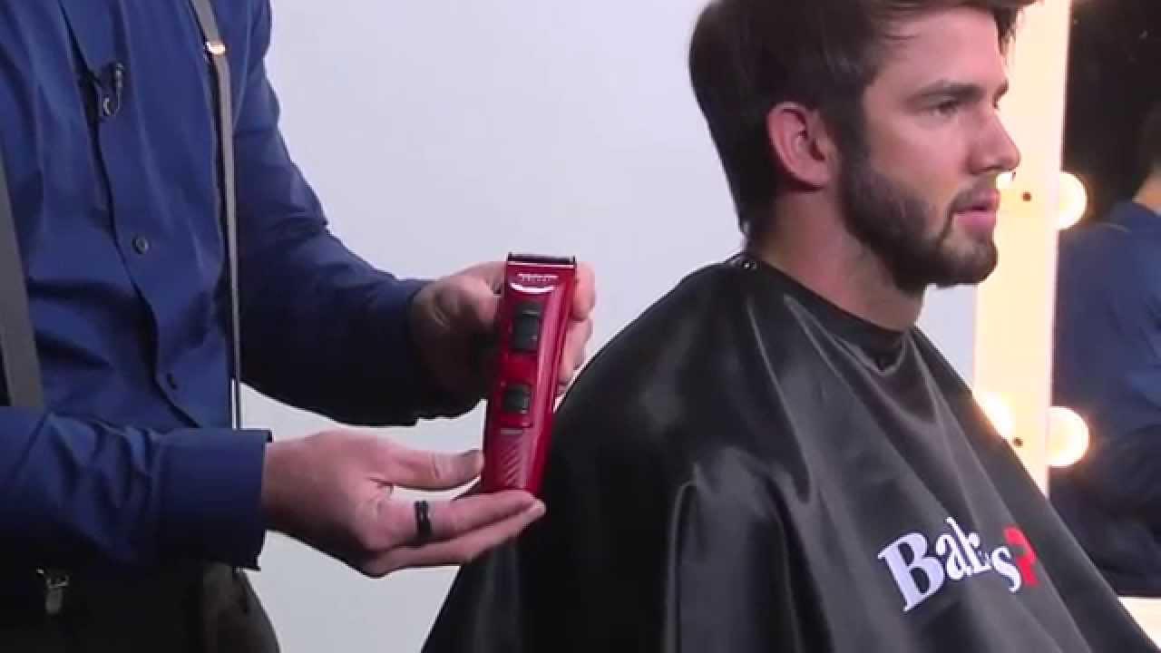 MENS FADED CUT  using BaByliss Pro Ferrari Clippers - YouTube 6b372a8f404