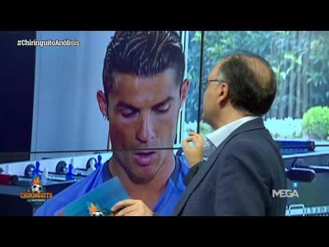 J.M.Ovejero analiza los gestos de Cristiano Ronaldo