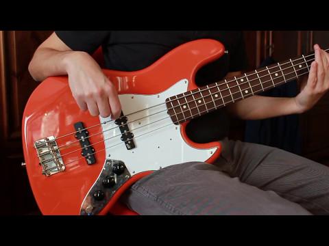Jazz bass pickup comparison: stock mij vs Aguilar AG 4J-60
