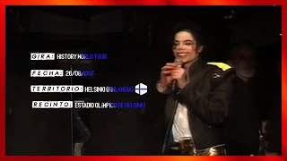 Michael Jackson Live History World Tour Helsinki 1997 (60fps)