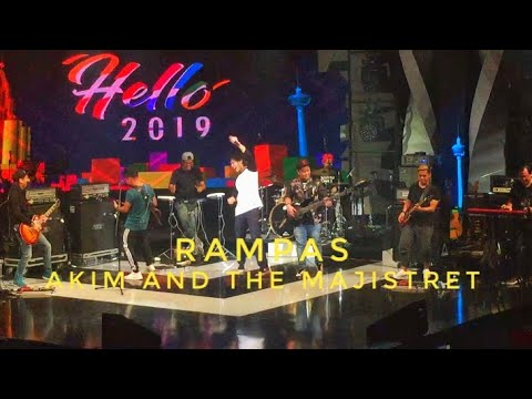 Rampas - Akim And The Majistret Live Rec #HELLO2019