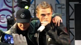 B-Brave - Tot In De Nacht @ Mediamarkt, Amsterdam * 2-11-15 (Xite Nominees)